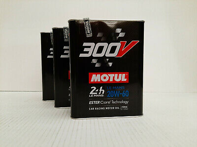 13,95€/l Motul 300V LeMans SAE 20W - 60  3 x  2 ltr racing oil