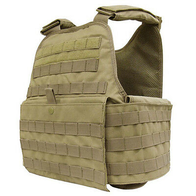 CONDOR MOLLE Operator Plate Carrier Body Armor Vest Chest Rig MOPC COYOTE TAN