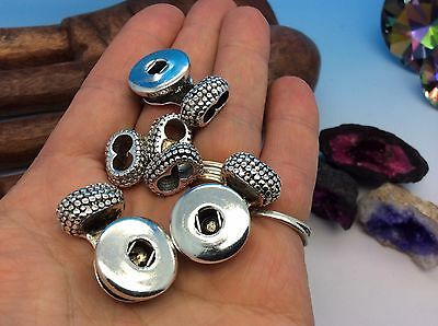 """""""Bumpy"""" Snap End Caps for Bracelets set of 3 inter-changeable jewelry!"""