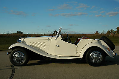 Replica/Kit Makes : MG TD Convertible Detailed Ad:  70+ Pics, 7 min Video, Runs & Drives Great!  Nice Condition