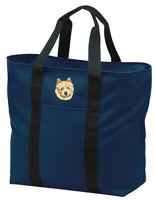 Norwich Terrier Embroidered All Purpose Tote
