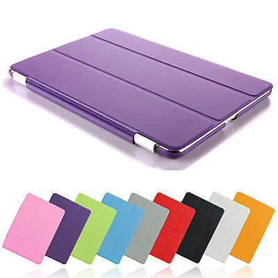Magnetic Smart Case Cover + back case for Apple iPad mini 1,2,3