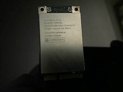 AR5BX86 Airport wireless card for ALL MACS 2006-2007