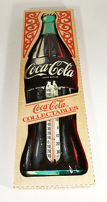 Vintage Coca Cola Collectable Thermometer No. 858 mit OVP 1950's 74 cm(ZU3919E)