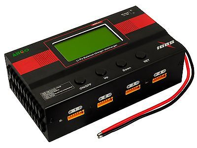 IC8S Professional 8 Slots RC 1S-6S LiPo Battery Balance Charger SE