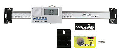 6'' x 0.0005'' Horizontal Digital Scale for DRO Readout, #ABHO-0006