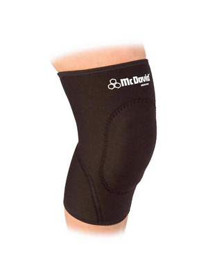McDavid Classic Logo 410 CL Level 1 Knee Support W/ Sorbothane Pad Black Small