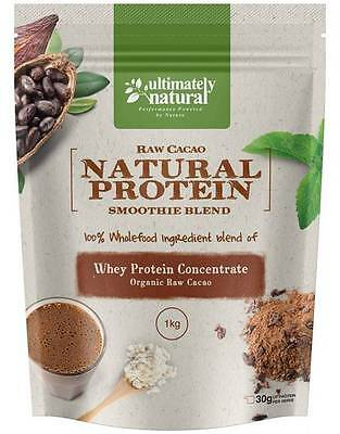 100% Natural Organic Raw Organic Cacao Whey Protein Powder Pure Chocolate Blend