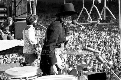 Joe Walsh Barnstorm Photo 8x12 or 8x10 inch '74 World Series of Rock Cleveland 8