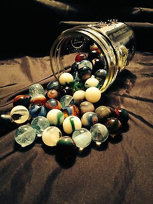 MARBLES that GLOW IN THE DARK
