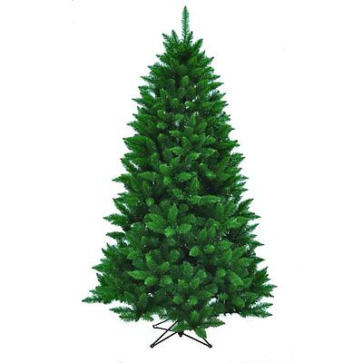 Kurt Adler 7' Unlit Pine Christmas Tree Includes Metal Base