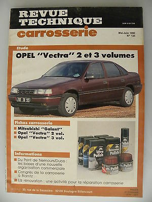 revue technique automobile carrosserie RTA OPEL  Vectra 2 et 3 volumes