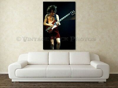 Angus Young AC/DC 20x30 in Fine Art Gallery Canvas Print Photo Framed Gilcee 26
