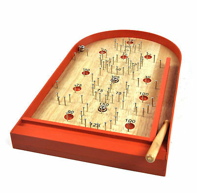 Classic Wooden Bagatelle