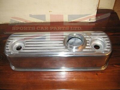 New Polished Alloy Valve Cover for MG Midget 1958-1974 Classic Mini 1959-2000