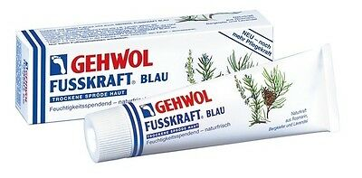 Gehwol Fusskraft blau 125 ml