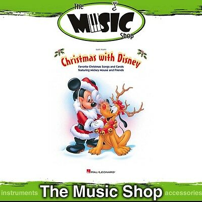 New Christmas with Disney Music Book for Easy Piano
