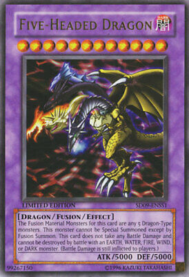 Yugioh Card - Five-Headed Dragon *Ultra Rare* LC03-EN004 (NM/M)