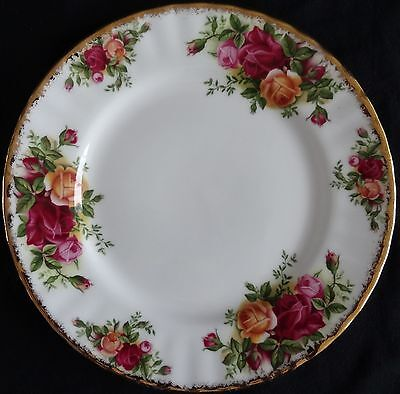 ROYAL ALBERT old country roses ontbijtbord (18 cm)(1)