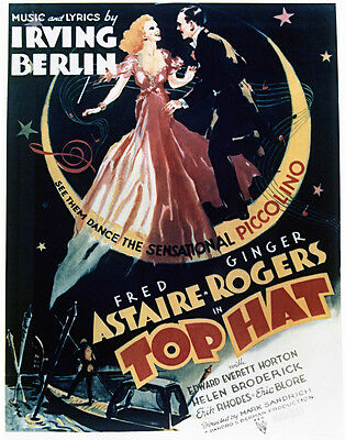 Top Hat Fred Astaire Ginger Rogers 16x20 poster reproduction artwork