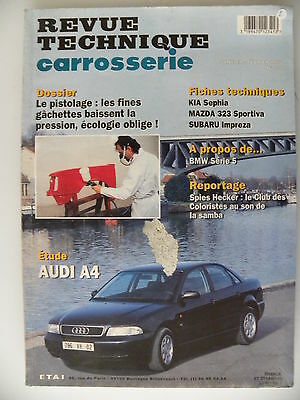 revue technique automobile carrosserie RTA  AUDI A4 n°159