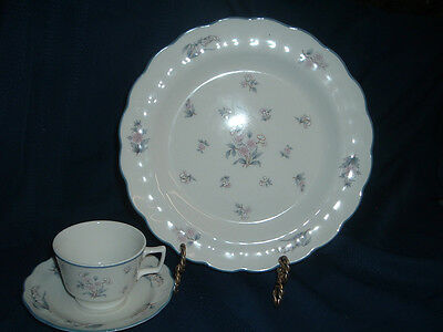 Royal Doulton, LINCOLN, Dinner Plate and Cup & Saucer