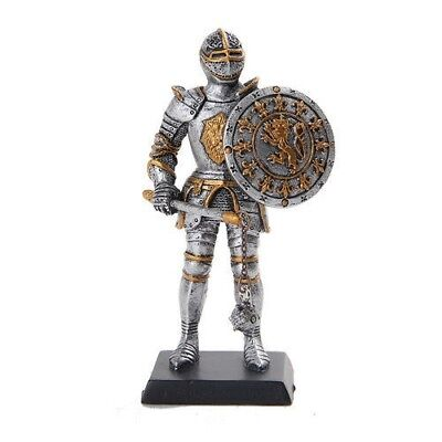 "Elite Guard Statue Medieval Knight of Valor Flail Unit 5""H Figurine Miniature"