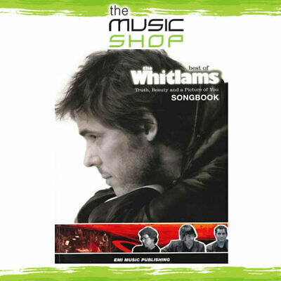 New Best of the Whitlams PVG Music Book - Piano Vocal Guitar