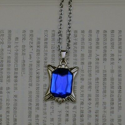 Anime Black Butler Cosplay blue necklace Pendant Free shipping