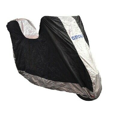 OXFORD Aquatex MOTORCYCLE WATERPROOF COVER WITH TOP BOX MEDIUM 229x99x125cm