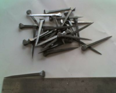 Horseshoe Nails 54mm long for Stained Glass & Craft (15)