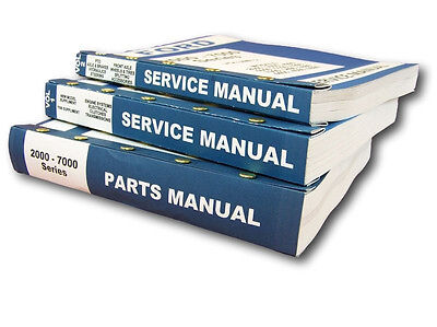 Lot New Ford 3000 4000 Series Tractor Service Repair Shop Parts Manuals Catalog