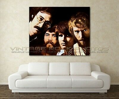 Creedence Clearwater Revival Poster Size Photo 30x40 inch Candid 70's Print 3