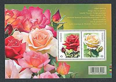Canada   2014    Roses    Ms     Mnh