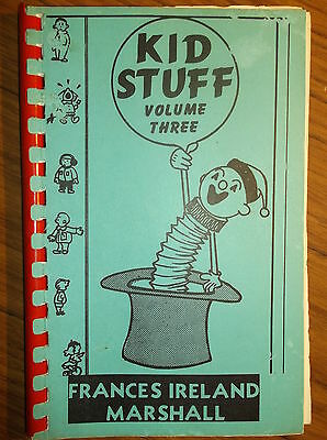 "Vintage Magic Book (1962) 1981 ""Kid Stuff Volume 3"" by Frances Ireland Marshall"