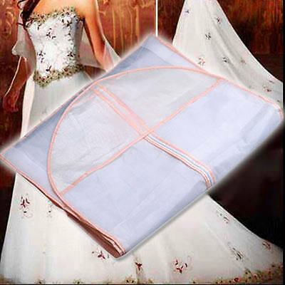 Bridal Wedding Dress Gown Garment Storage Bag protector cover Clothes Party New
