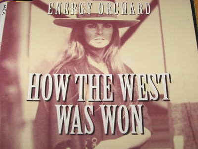 cd single ENERGY ORCHARD HOW THE WEST WAS WON LITTLE PALEFACE SHIPYARD SONG