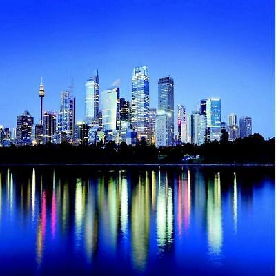 1 WALL PHOTO GIANT WALLPAPER SYDNEY WATERFRONT VIEW POSTER MURAL 3.60 x 2.53m