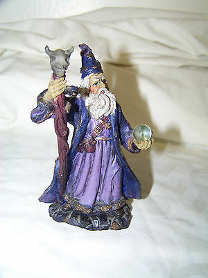 Wizard with Purple Robe and Skull Staff Collectible