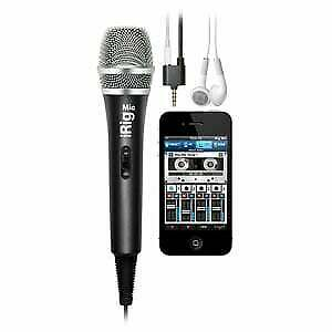 iRig-Mic IK Multimedia Dynamic Microphone Mic for iDevices iPhone iPod iPad a...