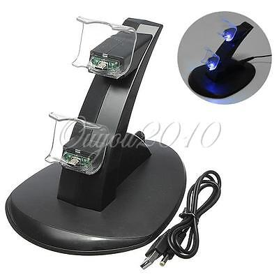 Playstation 4 Usb Charging Ricarica Dock Station Supporto Pr Ps4 Controller