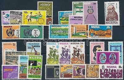 Nigeria stamp 1 individual value + 9 diff. sets MNH 1973-1976 WS152668