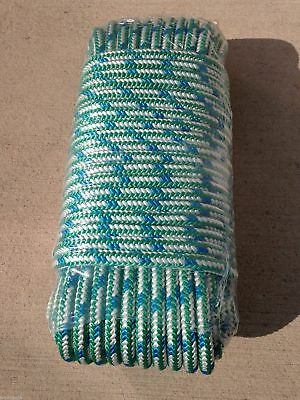 "1/2"" x 150' Arborist tree climbing rope 16 strand braided"