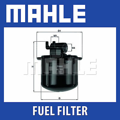 Mahle Fuel Filter KL561 - Fits Rover 600 Series - Genuine Part