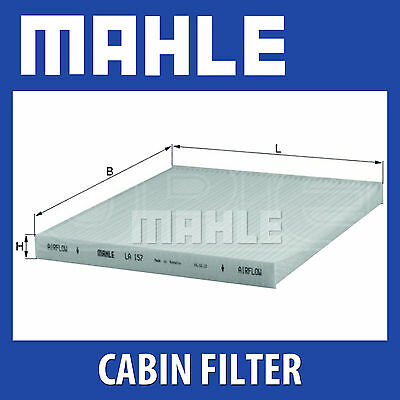 Mahle Pollen Air Filter - For Cabin Filter LA157 - Fits Toyota Avensis, Corolla