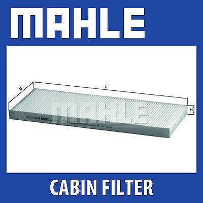 Mahle Pollen Air Filter - For Cabin Filter LA49 - Fits Vauxhall