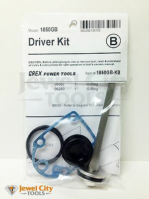 Brand New Grex Replacement Driver Kit 1850GB - Part # 1850GB-KB