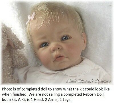 REBORN DOLL, LUCA BY ELLY KNOOPS, VINYL DOLL KIT