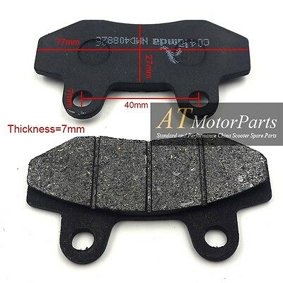 Front Brake Pads GY6 50cc 150cc Scooter Moped Motorcycle ATV Go kart Dirt Bike