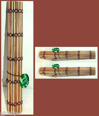Decoration & Cozy DECOZY Pair of Bamboo Placemats (2) New 30 x 45 cm Place Mat